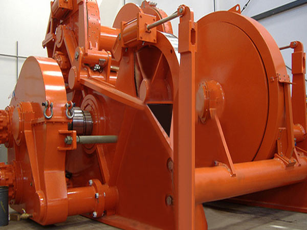 30 ton hydraulic marine winch from Sinma