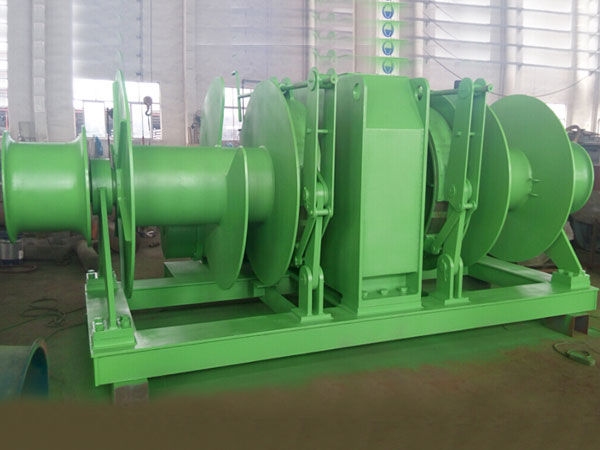 Best double drum mooring winch