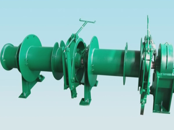 Double drum mooring windlass provided by Sinma