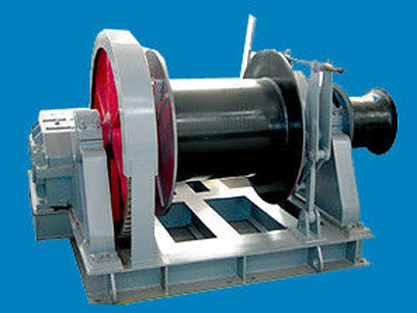 Single drum marine winch with good quality