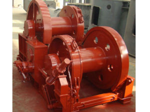 High quality hydraulic double drum winch from Sinma