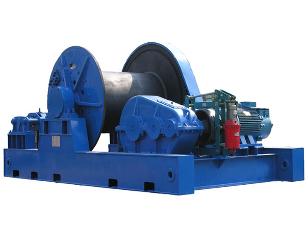 JMM slow speed winch